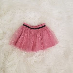 First Impressions Sparkly Pink Tutu Skirt